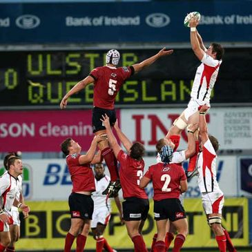 Ulster against Queensland Reds at Ravenhill
