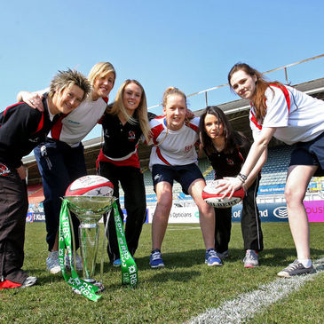 The launch of the Ulster Rugby Girls Camps
