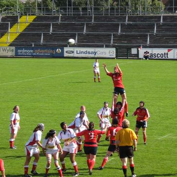 Action from last weekend's Ulster v Munster clash