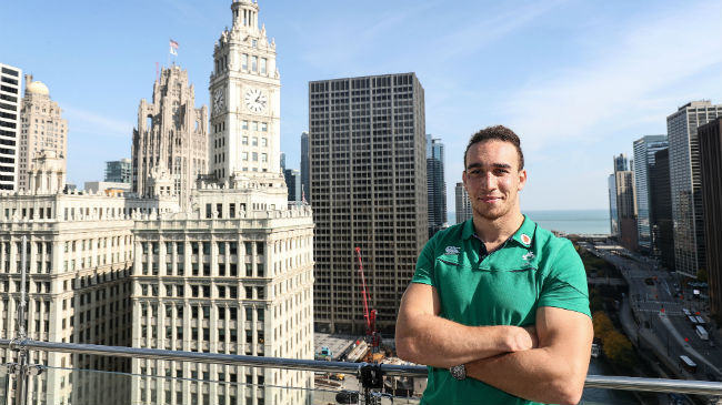 Irish Rugby TV: Ultan Dillane Excited For Chicago Clash