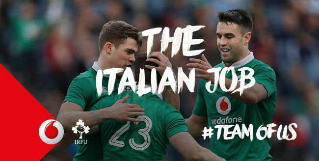 Irish Rugby TV: The Italian Job