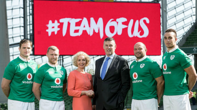 IRFU And Vodafone Announce New Four-Year Sponsorship