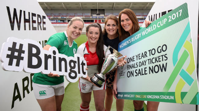 Irish Rugby TV: #WRWC2017 Finals Tickets On Sale
