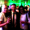 With Ireland head coach, Joe Schmidt afterwards at the team reception in the President's Suite