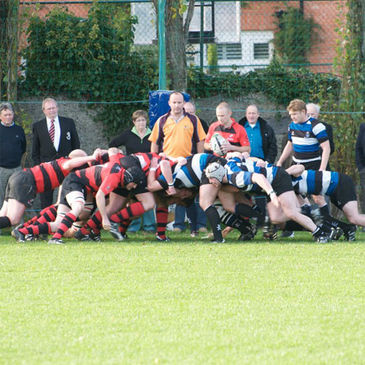 Scrum time at Merrion Road as Wanderers take on Rainey