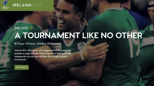 Ireland 2023 'Ready For The World' With Bid Website