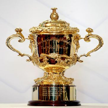 The Webb Ellis trophy