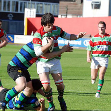 Action from the Sunday's Well v Seapoint game