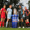 Gareth Maule (Scarlets), Paul Tito (Cardiff Blues), Jonathan Thomas (Ospreys) and Stephen Jones (Newport Gwent Dragons) travelled over to Dublin to represent the Welsh regions at the launch