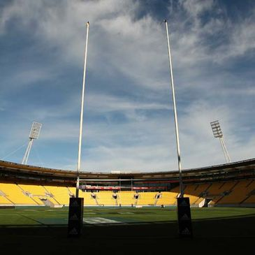 The Westpac Stadium in Wellington
