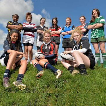Girls from all over Leinster took part in the bitz