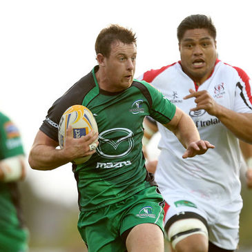 Connacht flanker Willie Faloon