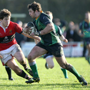 Willie Faloon was in try-scoring form for Ballynahinch last weekend