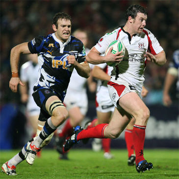 Ulster flanker Willie Faloon in action against Bath