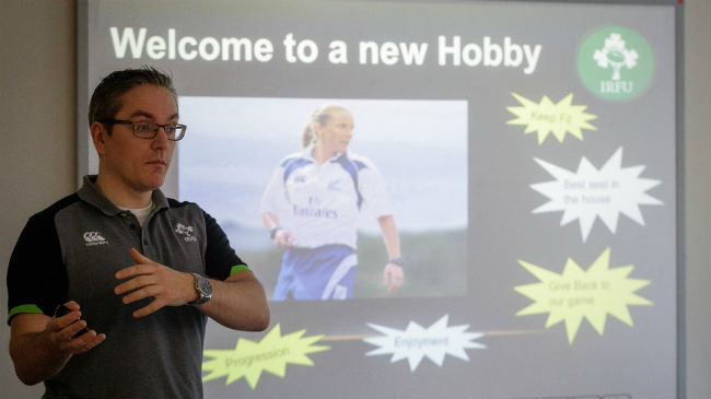 IRFU Host Female Referee Course