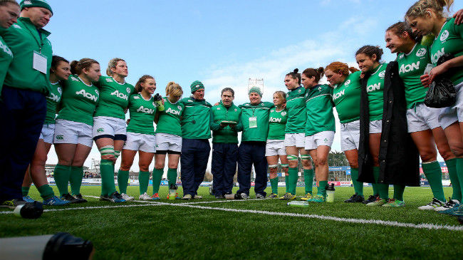 Ireland Women's Squad Named For Training Camp