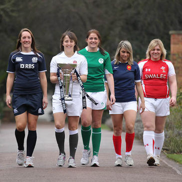 Fiona Coghlan at the launch of the RBS 6 Nations
