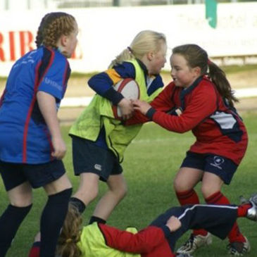 Girls rugby is growing in popularity out west