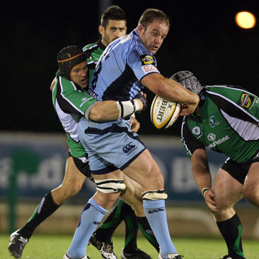 Xavier Rush in action against Connacht