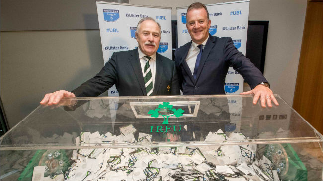 The IRFU/Ulster Bank 'Your Club, Your Country' Grand Prize Draw