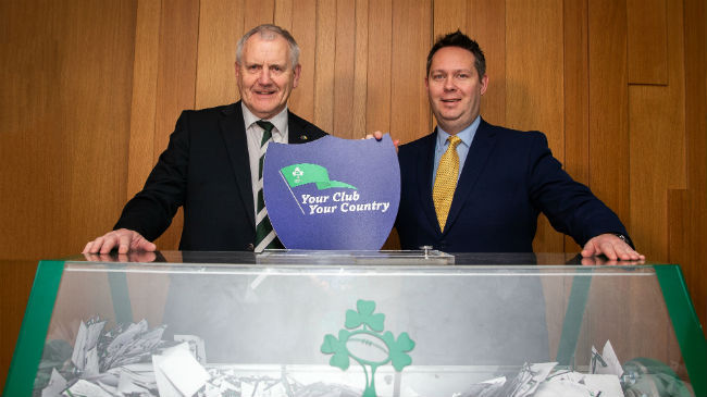 Over Half-A-Million Euro Raised For Clubs As 'Your Club, Your Country' Winners Drawn