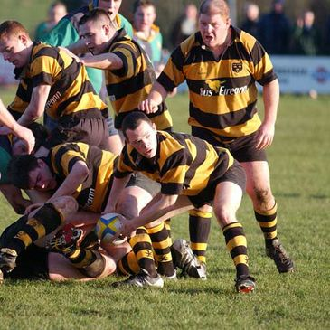 Young Munster on the attack