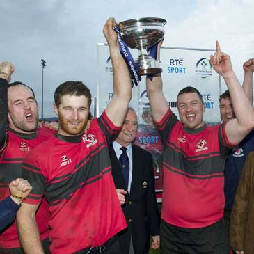 Tullamore won the Ulster Bank Junior Cup last season