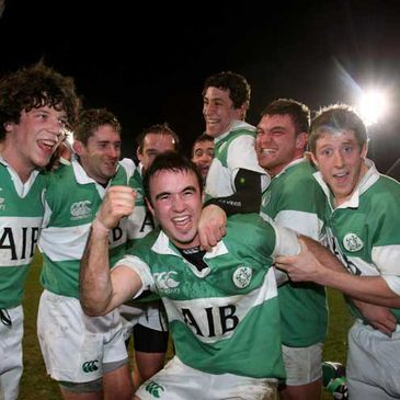It is celebration time for Ireland's AIB Club International squad