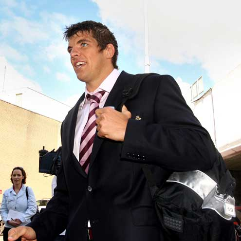 Ireland's World Cup Departure And Arrival, Wednesday, September 5, 2007