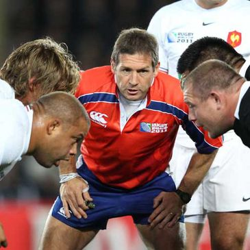 Alain Rolland will take charge of two Six Nations matches