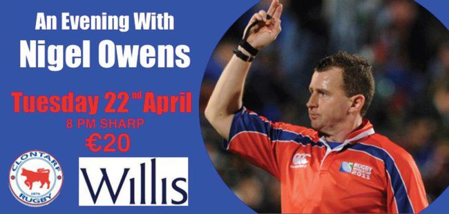 'An Evening with Nigel Owens'
