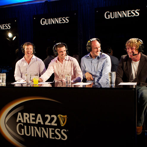 Paul Wallace, Alan Quinlan, Girvan Dempsey and Jerry Flannery