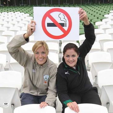 Aviva Stadium is a no smoking stadium