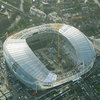 An aerial view of the Aviva Stadium taken recently