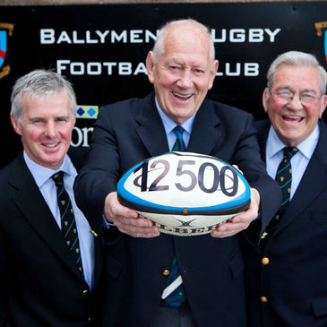 Ballymena RFC raise funds for the IRFU Charitable Trust