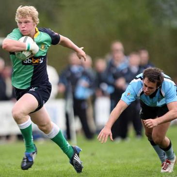 Nevin Spence was a try scorer for Ballynahinch