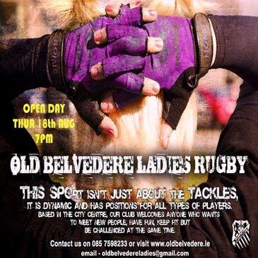 Old Belvedere Ladies are hosting an Open Day