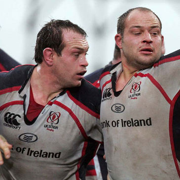 Simon Best and Rory Best