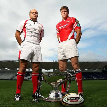 Rory Best and Simon Easterby