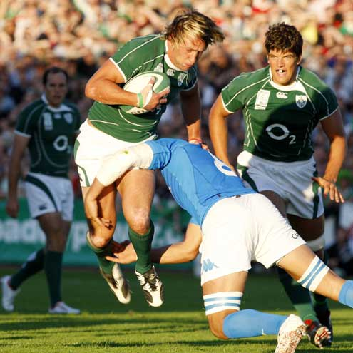 Ireland 23 Italy 20, Ravenhill, Friday, August 24, 2007