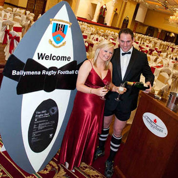 Ballymena's 'Big Rugby Ball' will take place in February