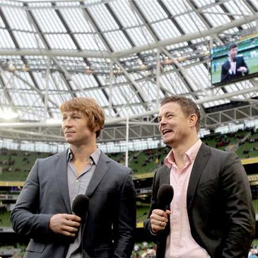 Brian O'Driscoll and Jerry Flannery on The Rugby Hub