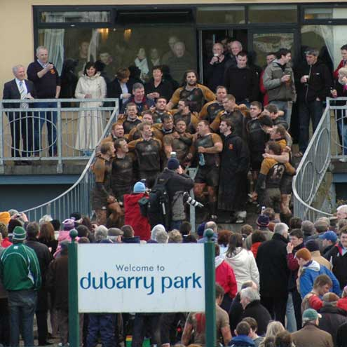 Dubarry Park is Buccaneers' home ground