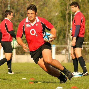 Munster and Ireland prop Tony Buckley