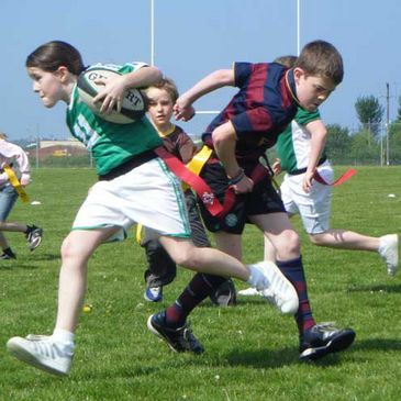 The Buntus Rugby Blitz in Sligo IT