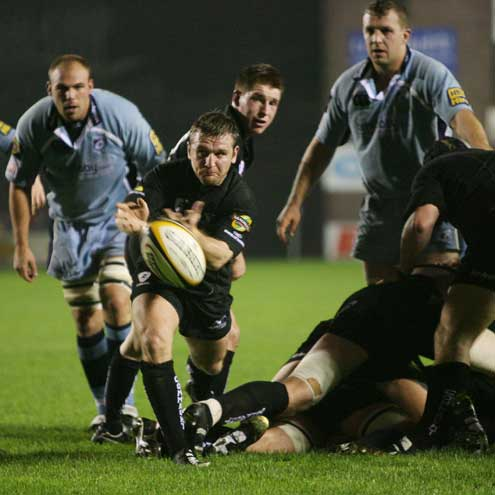 Cardiff Blues 30 Connacht 16, Arms Park, Friday, October 12, 2007