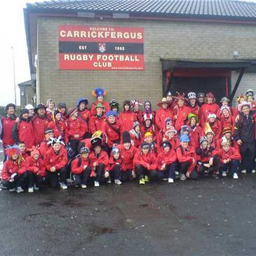 The Carrickfergus RFC Youths