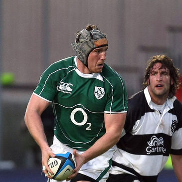Bob Casey will captain the Ireland 'A' team against England Saxons