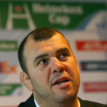 Leinster coach Michael Cheika