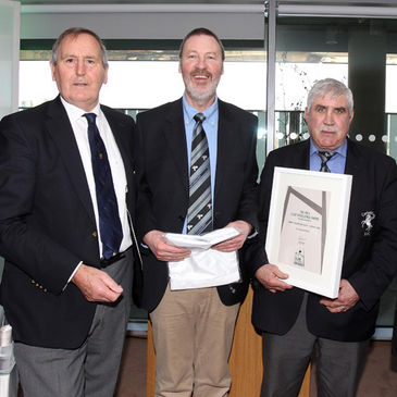 Corinthians RFC received an IRFU Club Excellence Award